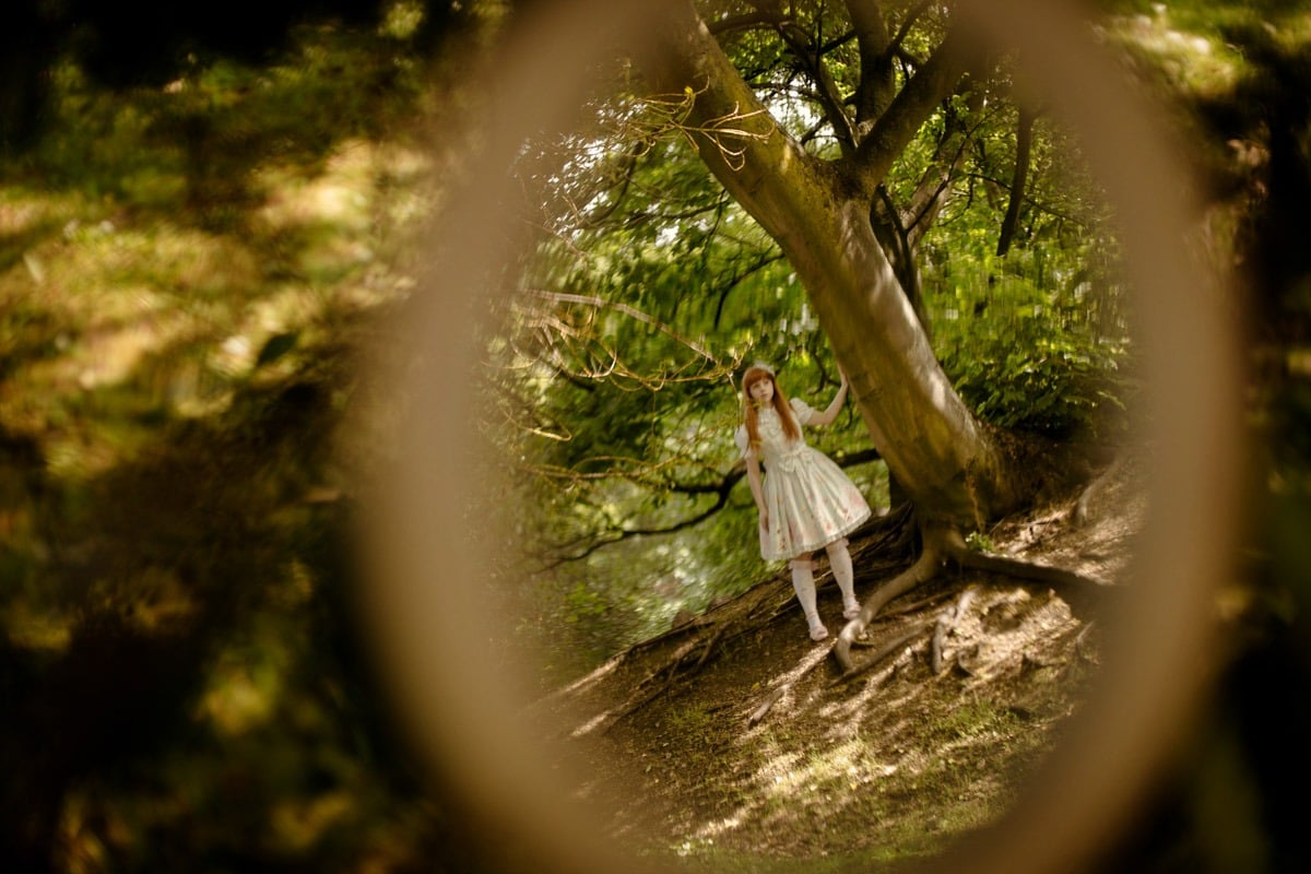 alice in wonderland through the looking glass inspiration shoot