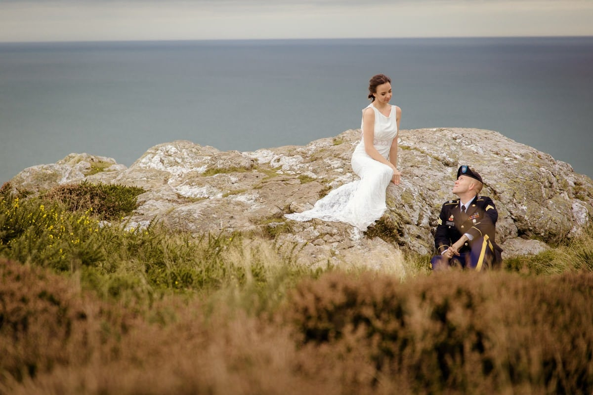 Elopement photographer in Ireland