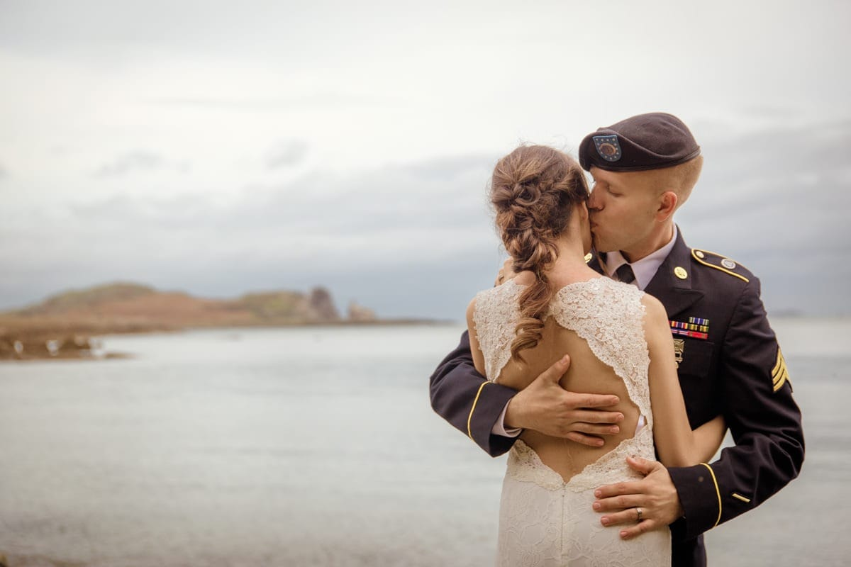 Intimate wedding in Ireland