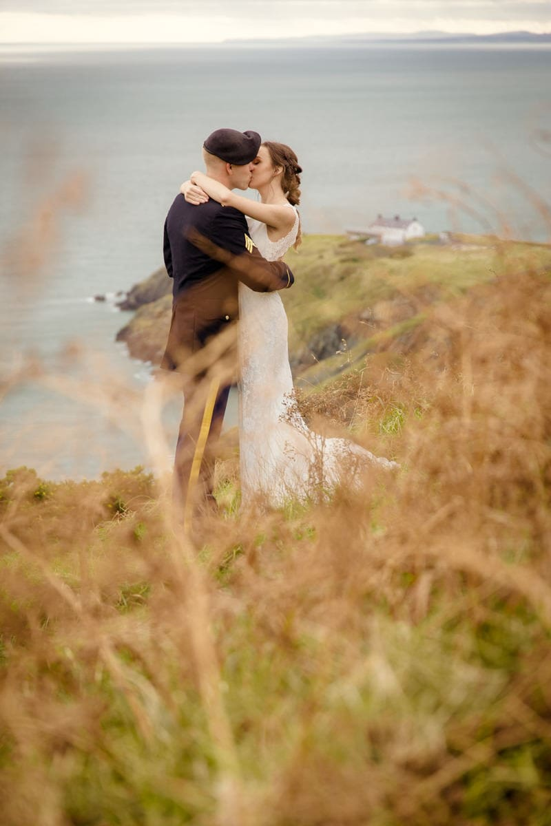 Howth elopement session Dublin wedding photographer