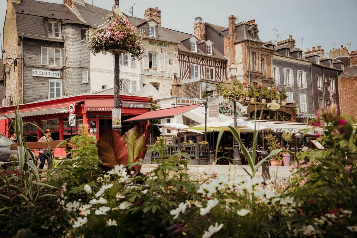 Streets of Honfleur France