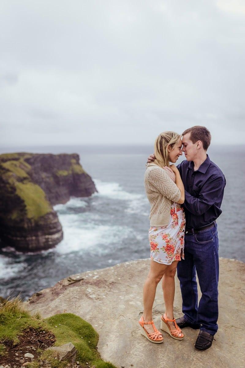 cliffs of moher engagement shoot