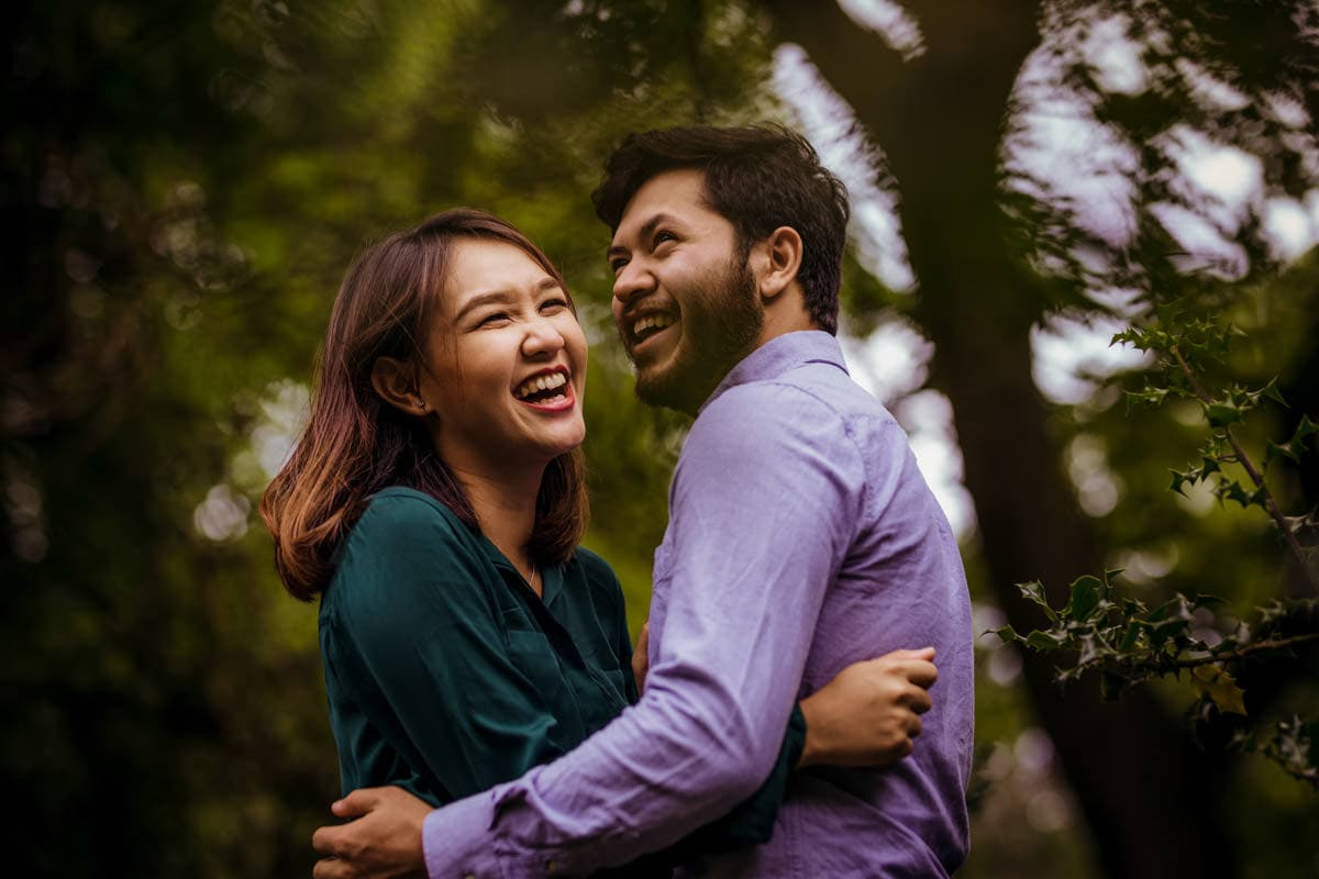 romantic engagement photos in dublin