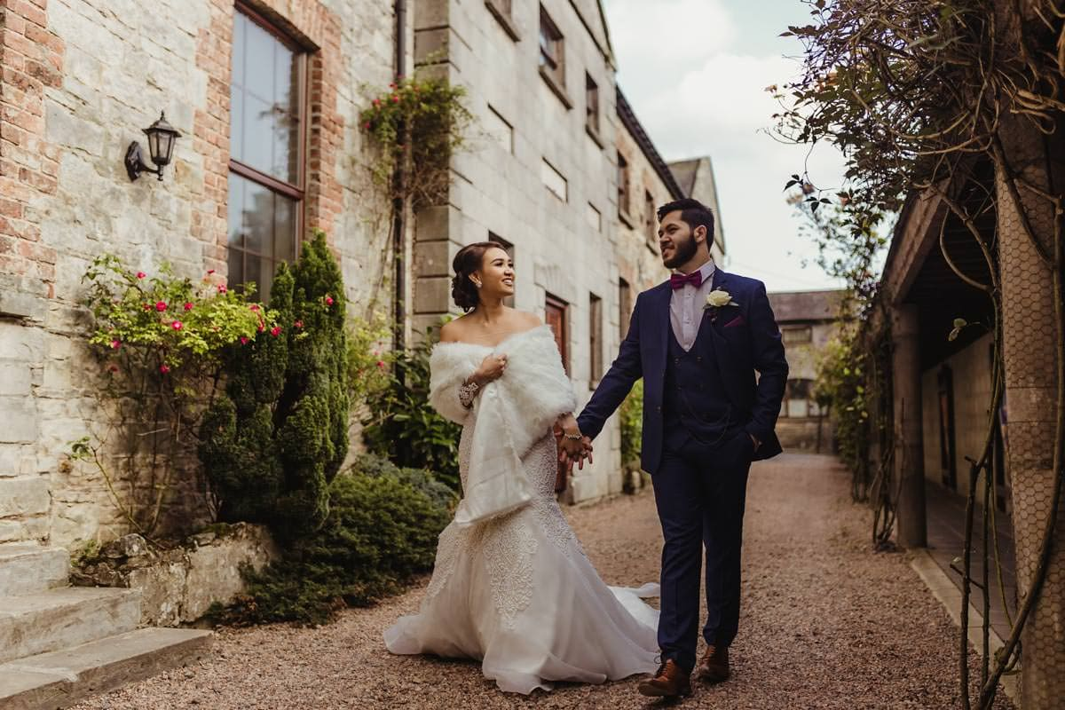 Filipino wedding in Irish castle, Cabra Castle wedding