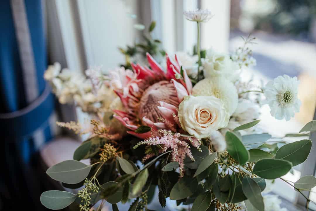 fleur weddings autumnal wedding bouquet