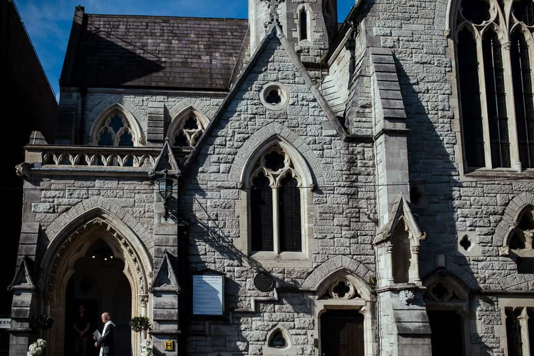wedding at unitarian church dublin