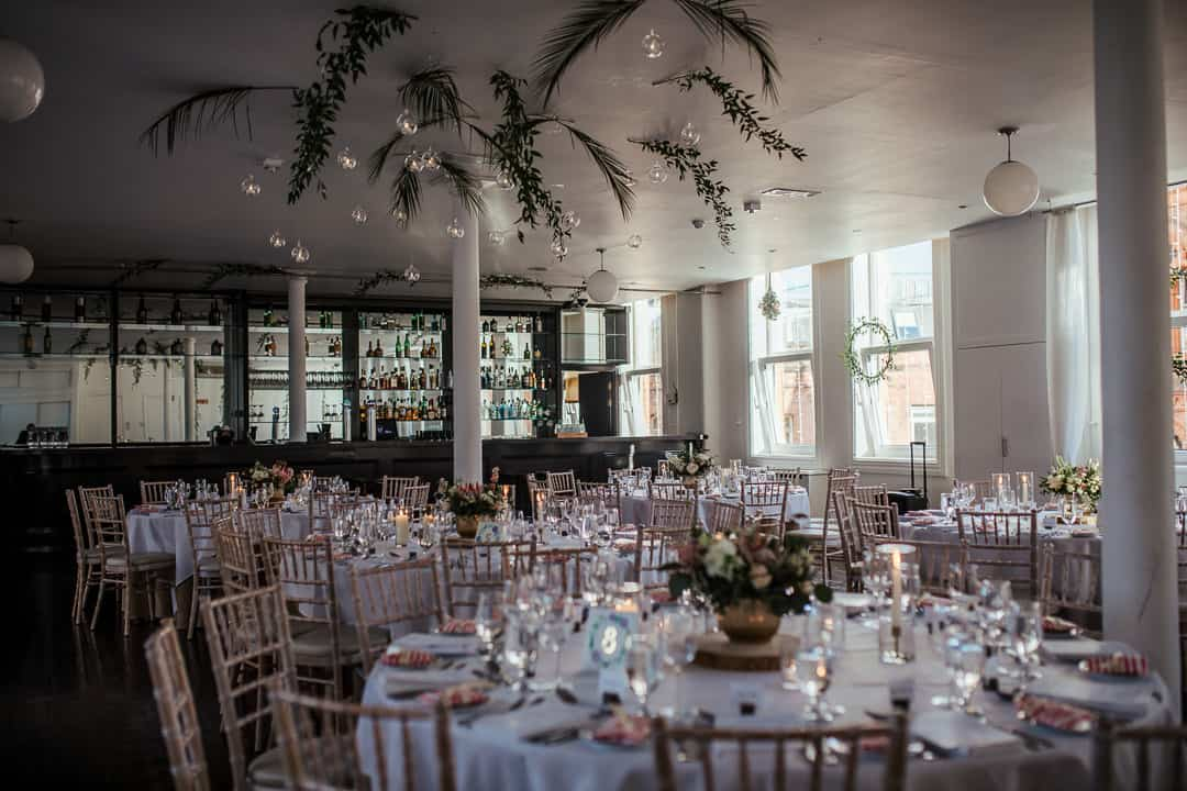 wedding at fallon and byrne autumn decor