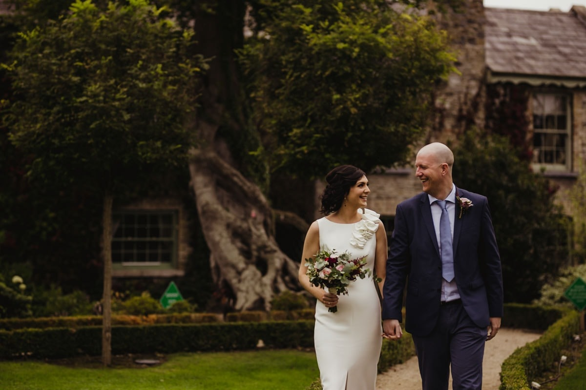 intimate wedding venue in kildare cliff at lyons