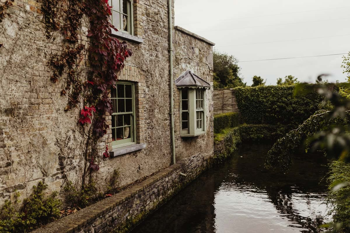 village at lyons in autumn luxurious wedding venue ireland