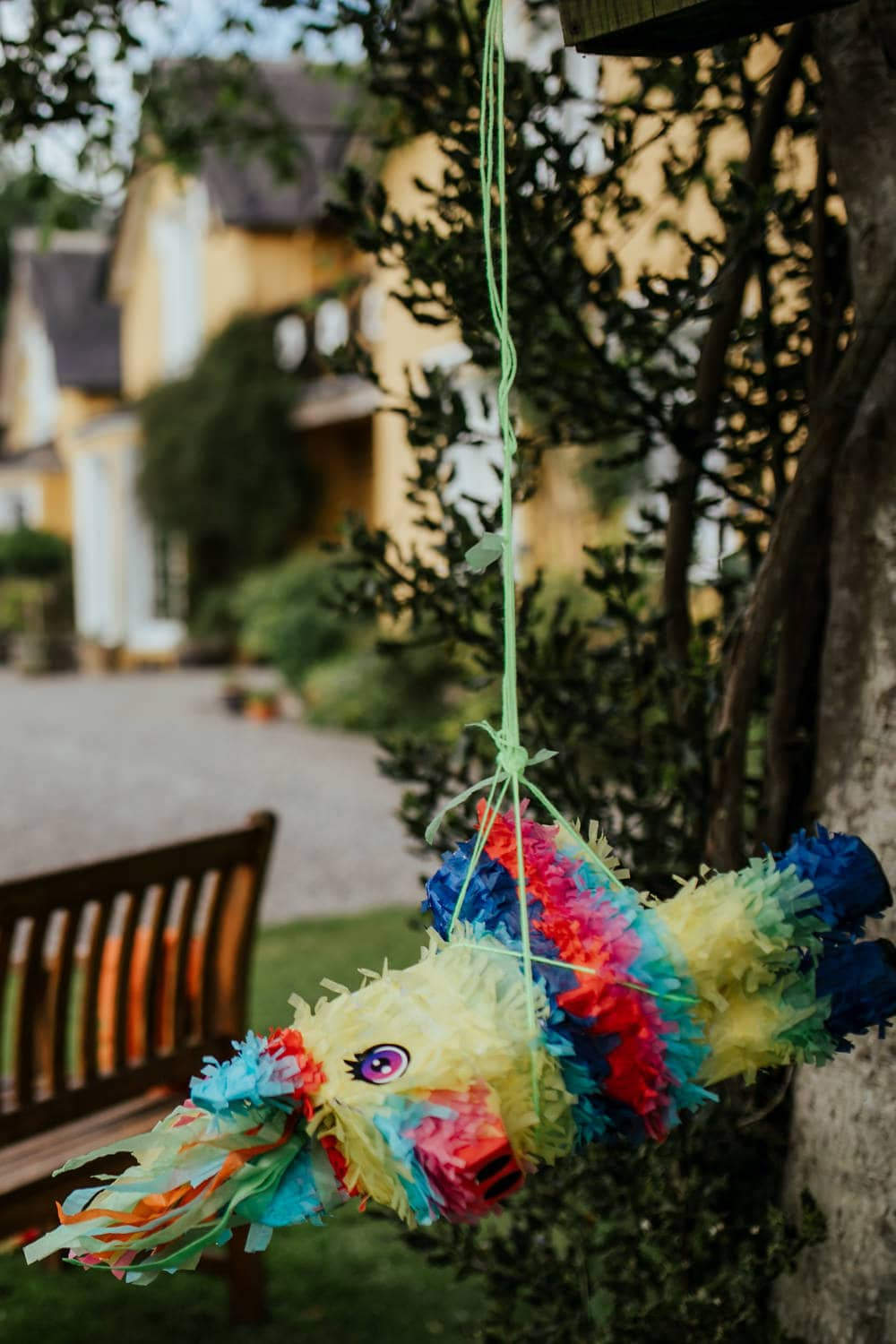 pinata at a wedding game ideas