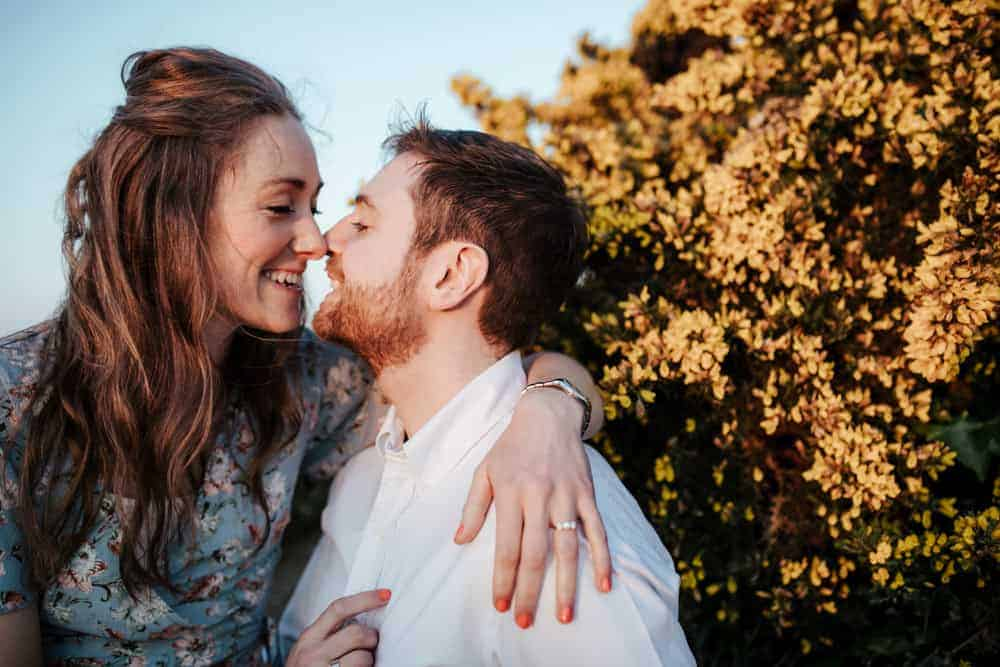 engagement session in killiney park dublin photographer
