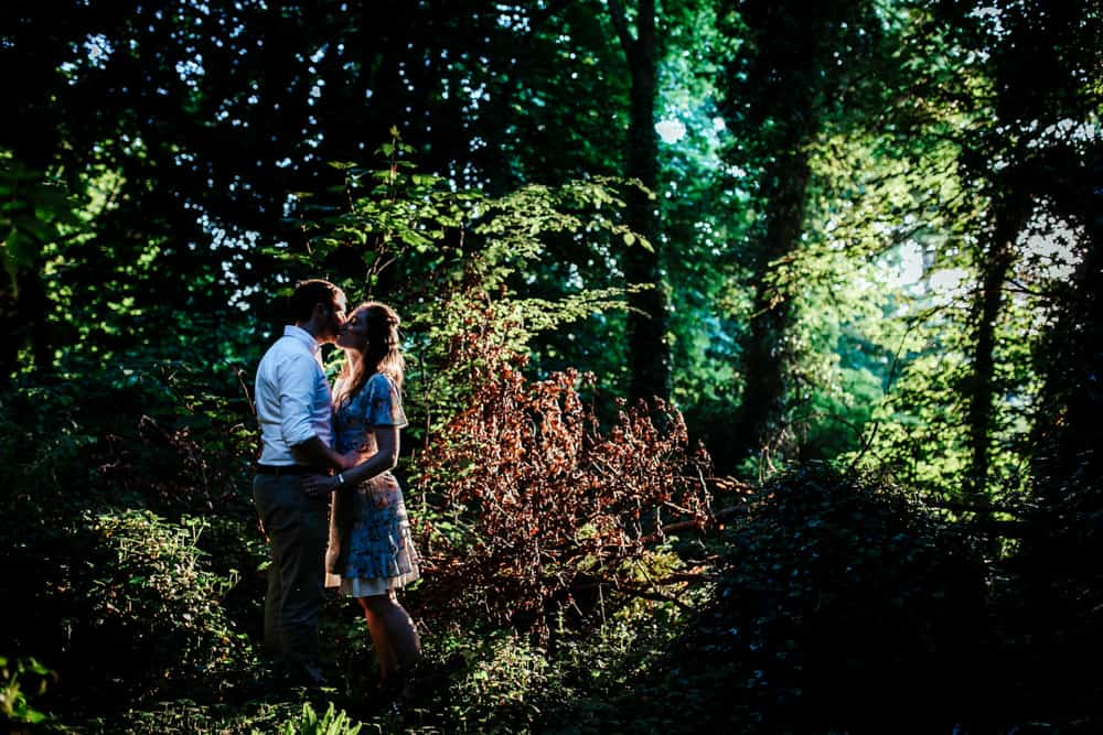 couple session in the killiney woods dublin wedding photographer