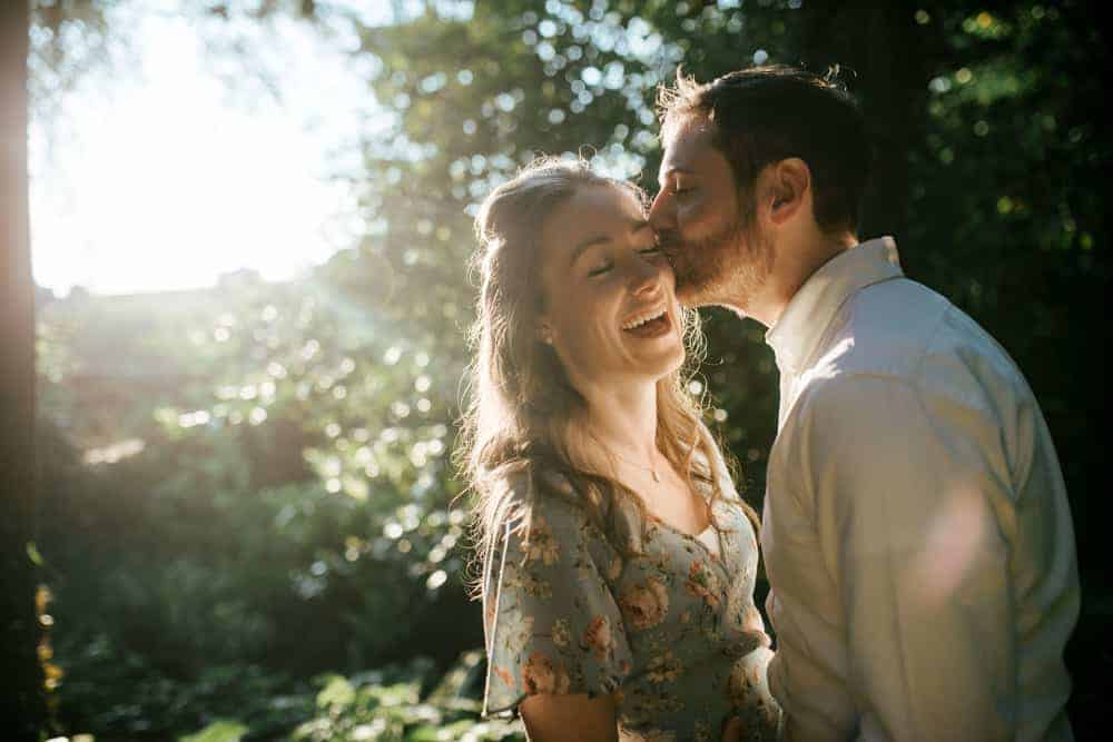 engagement session in killiney hill park