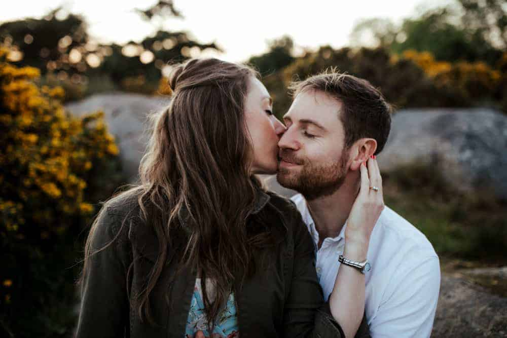 engagement session in killiney dublin wedding photographer