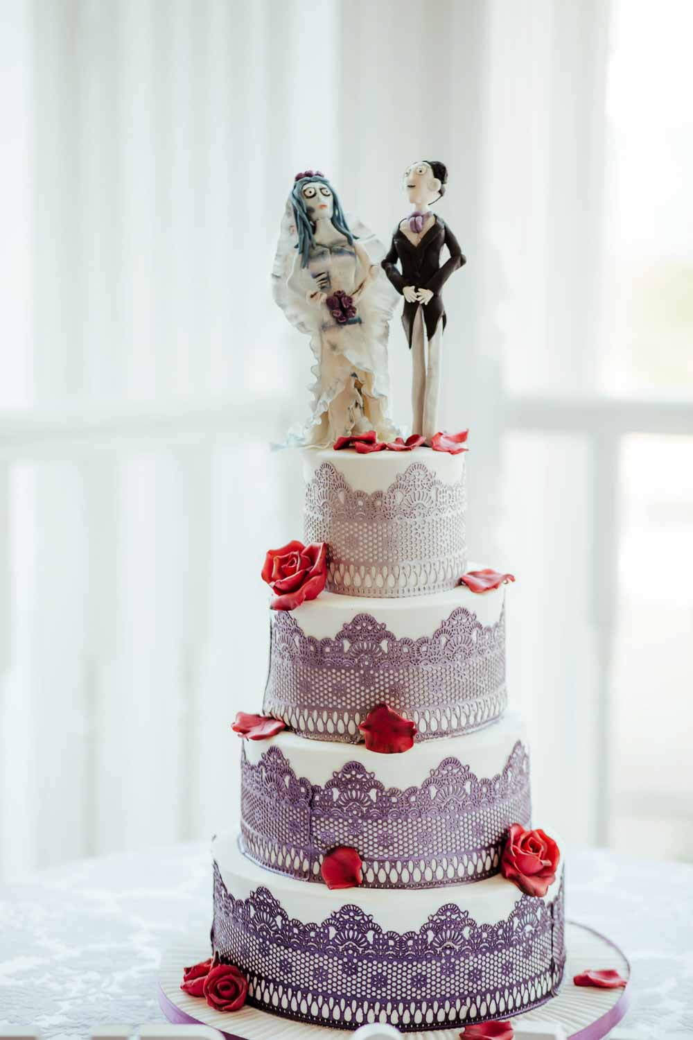 tim burton wedding cake corpse bride