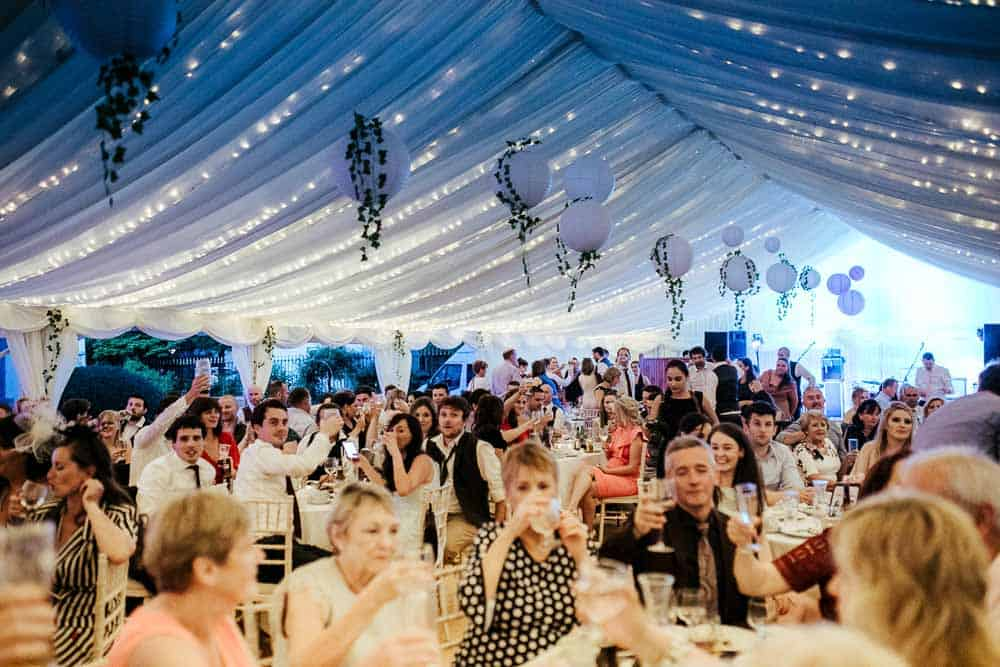 haven hotel dunmore east wedding marquee