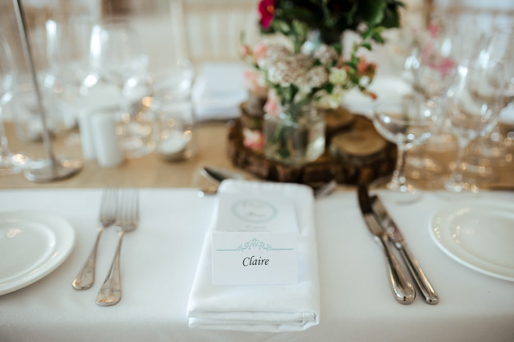 horetown house wedding placecards