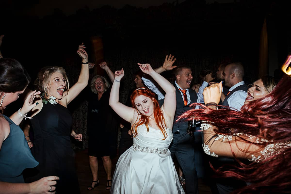 fun wedding photos from the dancefloor