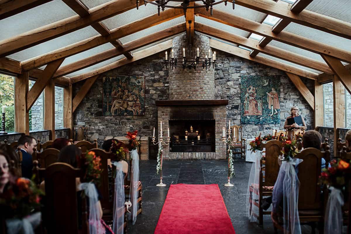 barberstown castle wedding ceremony room bright ceremony rooms in ireland