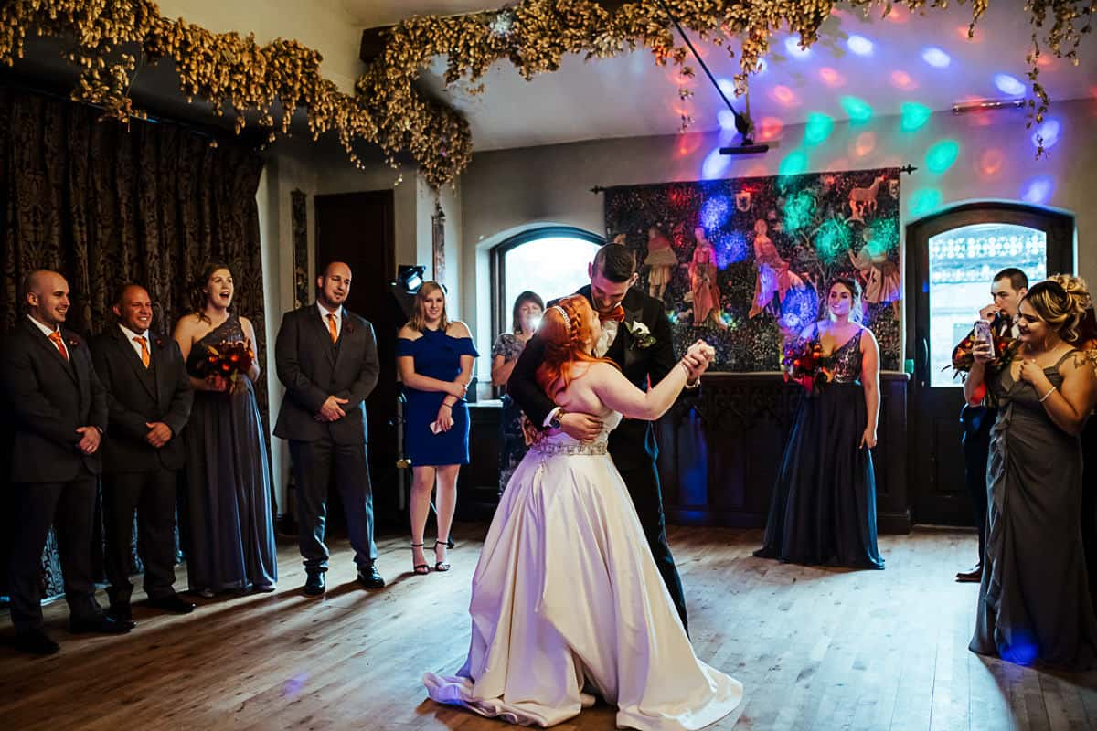 barberstown castle wedding first dance