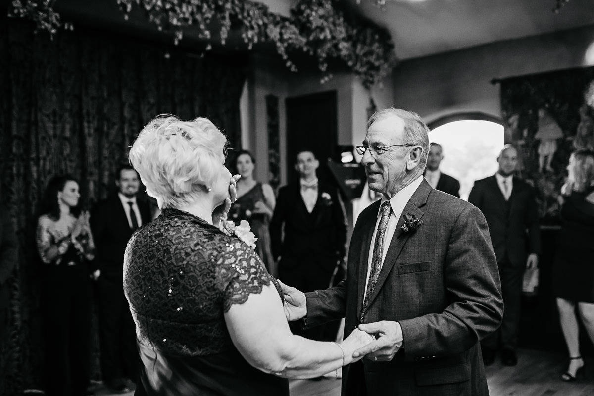 grandparent's wedding anniversary dance