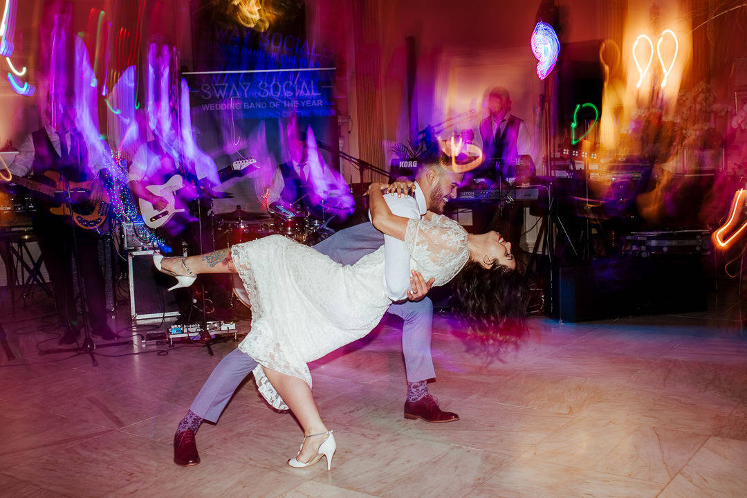 choreographed first dance rock n roll marlfield house wedding