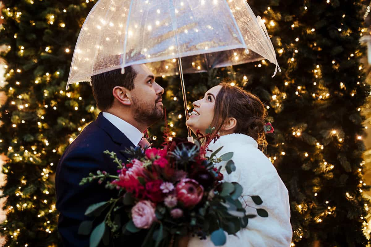 christmas wedding in dublin grafton street christmas lights