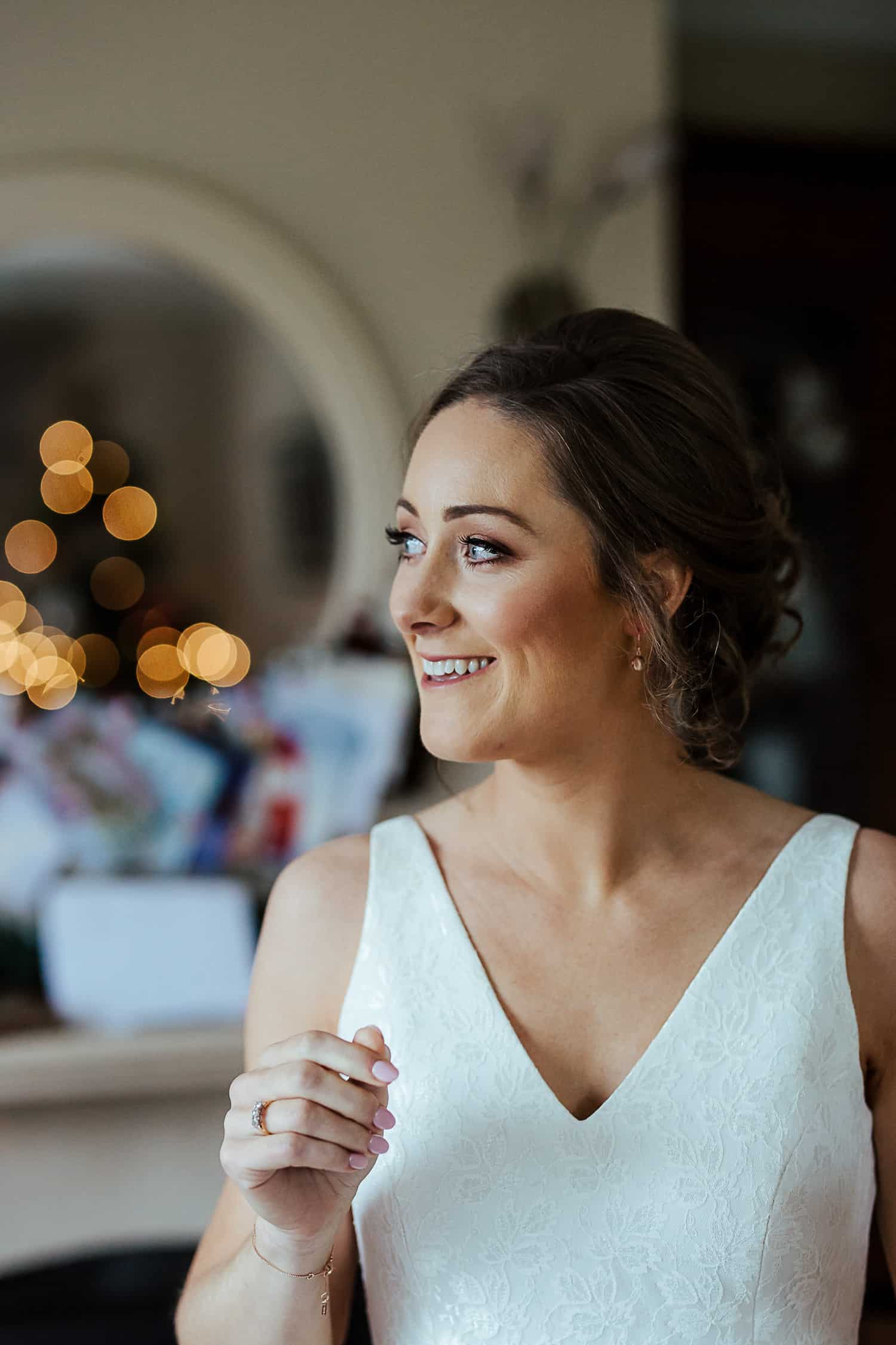 unposed portrait of the bride wedding photographer ireland