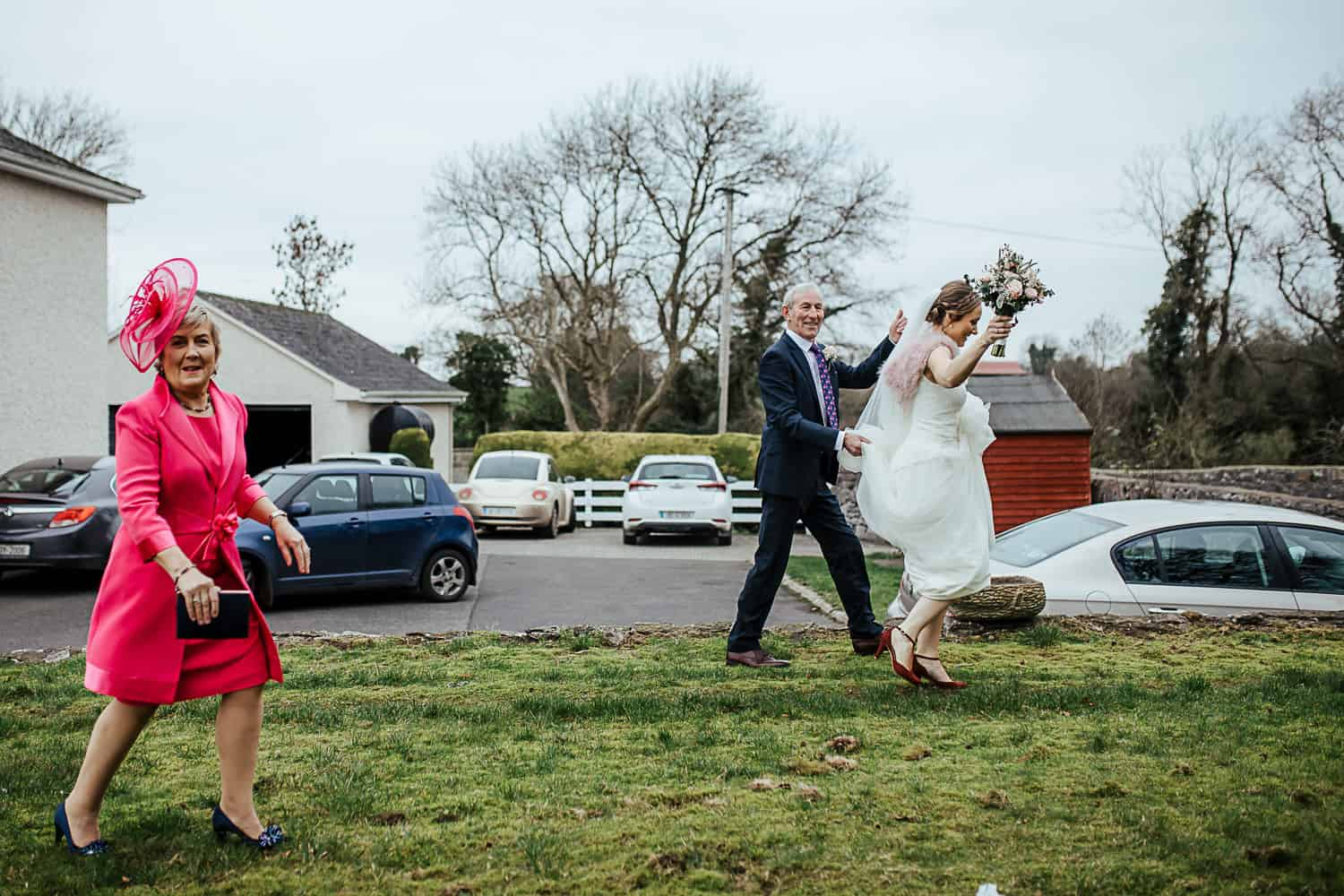 bridal morning in her family farm home ireland wedding photographer