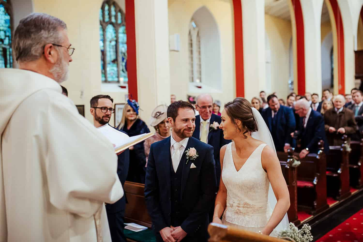 Church of Ireland wedding ceremony Tullamore