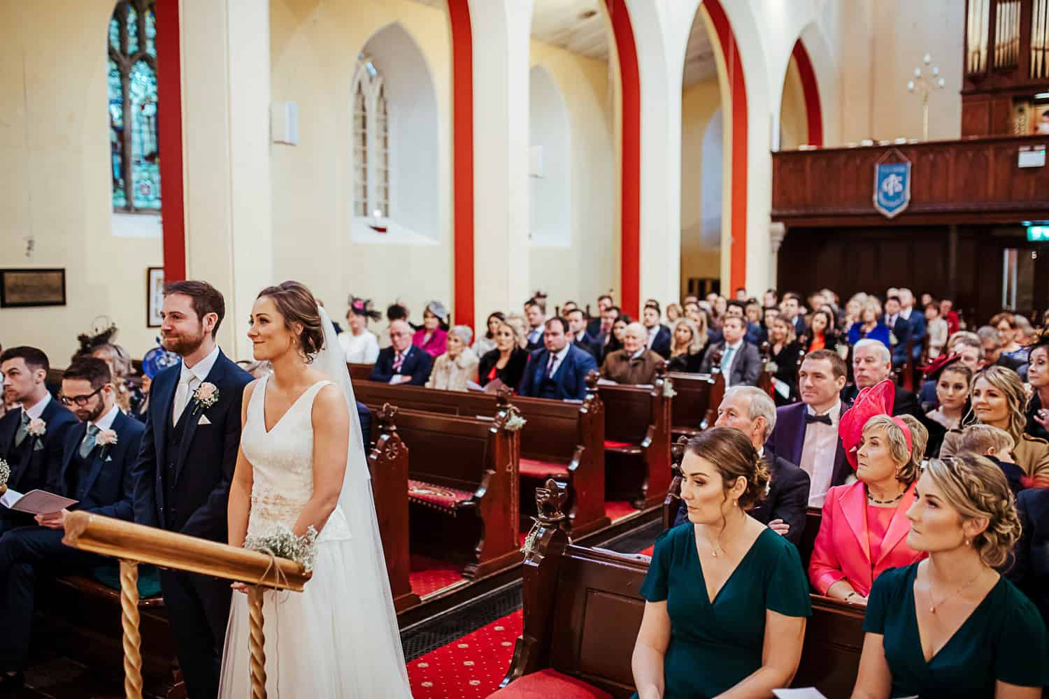 wedding at St Catherine's Church Tullamore