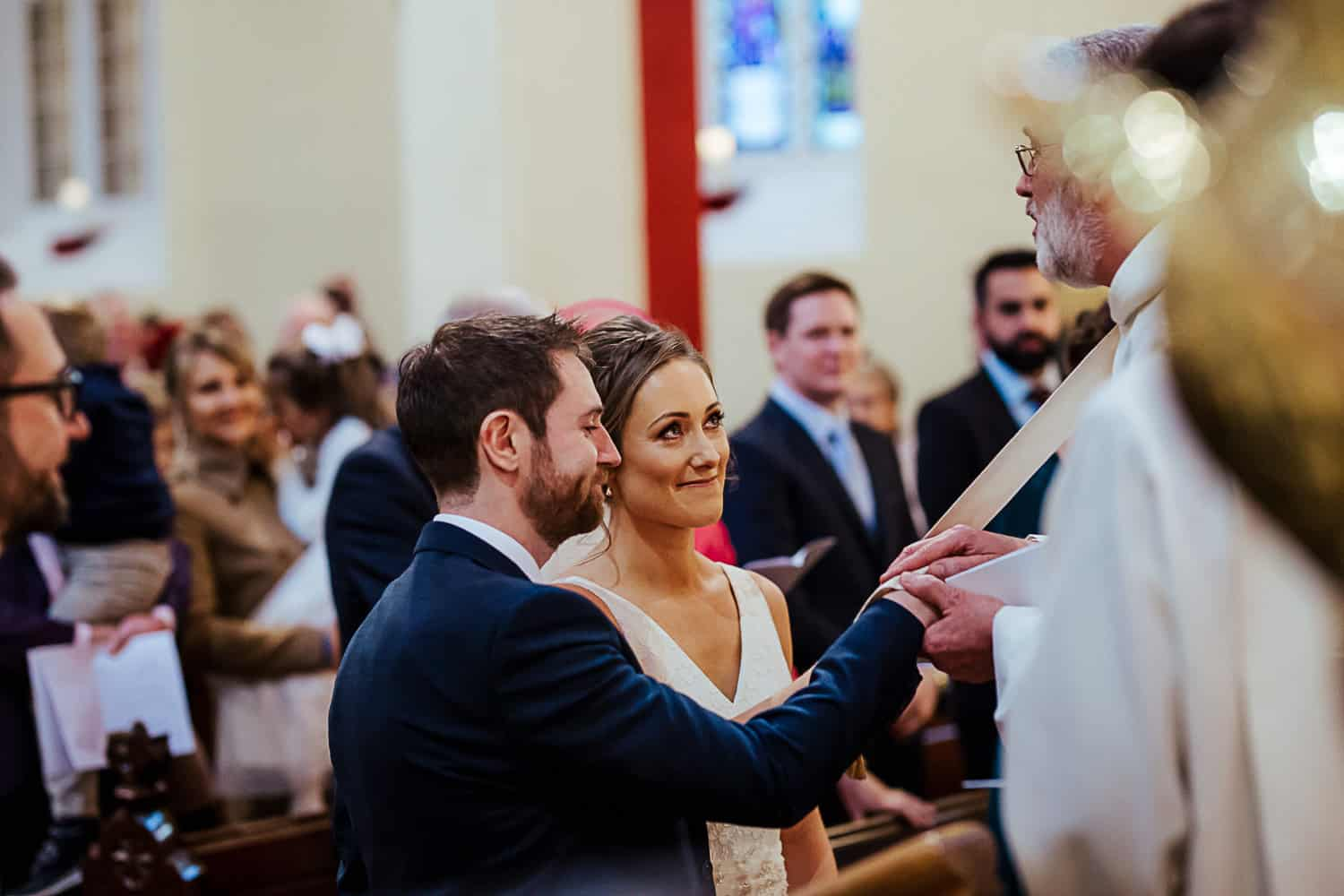 Irish wedding ceremony tying the knot Celtic tradition