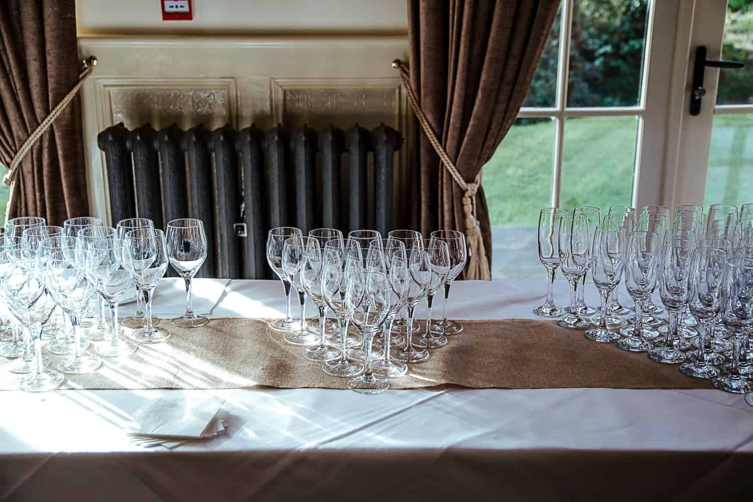 prosecco drinks reception brookhall weddings
