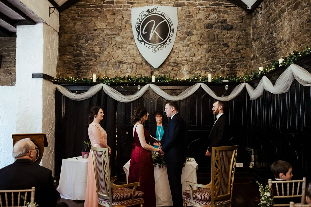 kinnity castle wedding civil ceremony