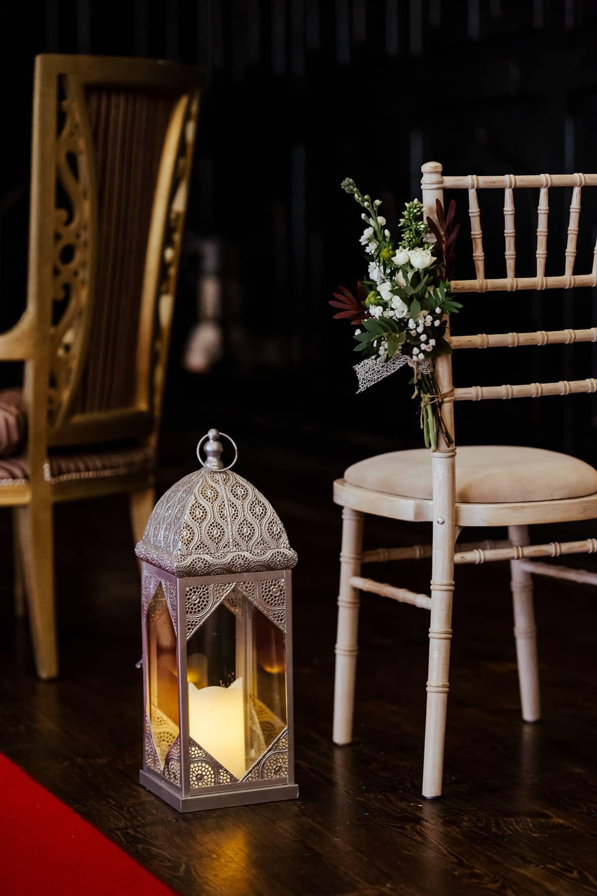 civil wedding ceremony room at kinnity castle