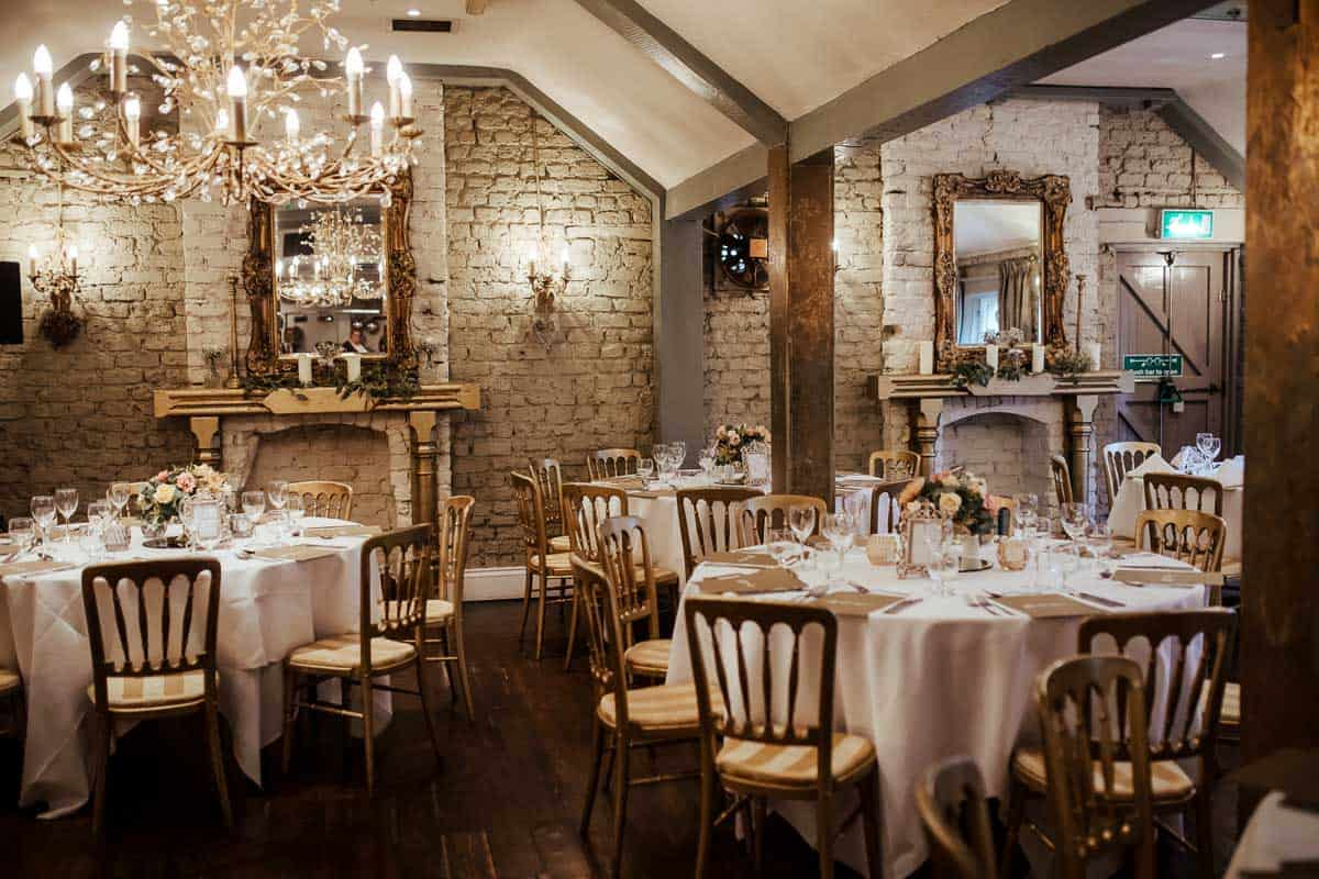 gold pheonix room wrights anglers rest wedding dublin