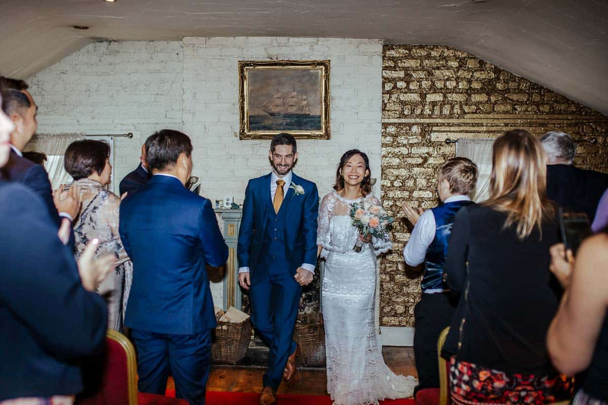 wrights anglers rest wedding ceremony