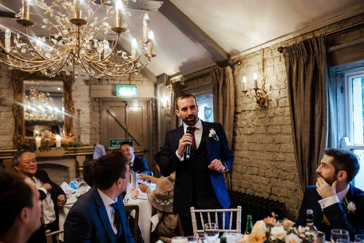 wedding speeches at wrights anglers rest dublin