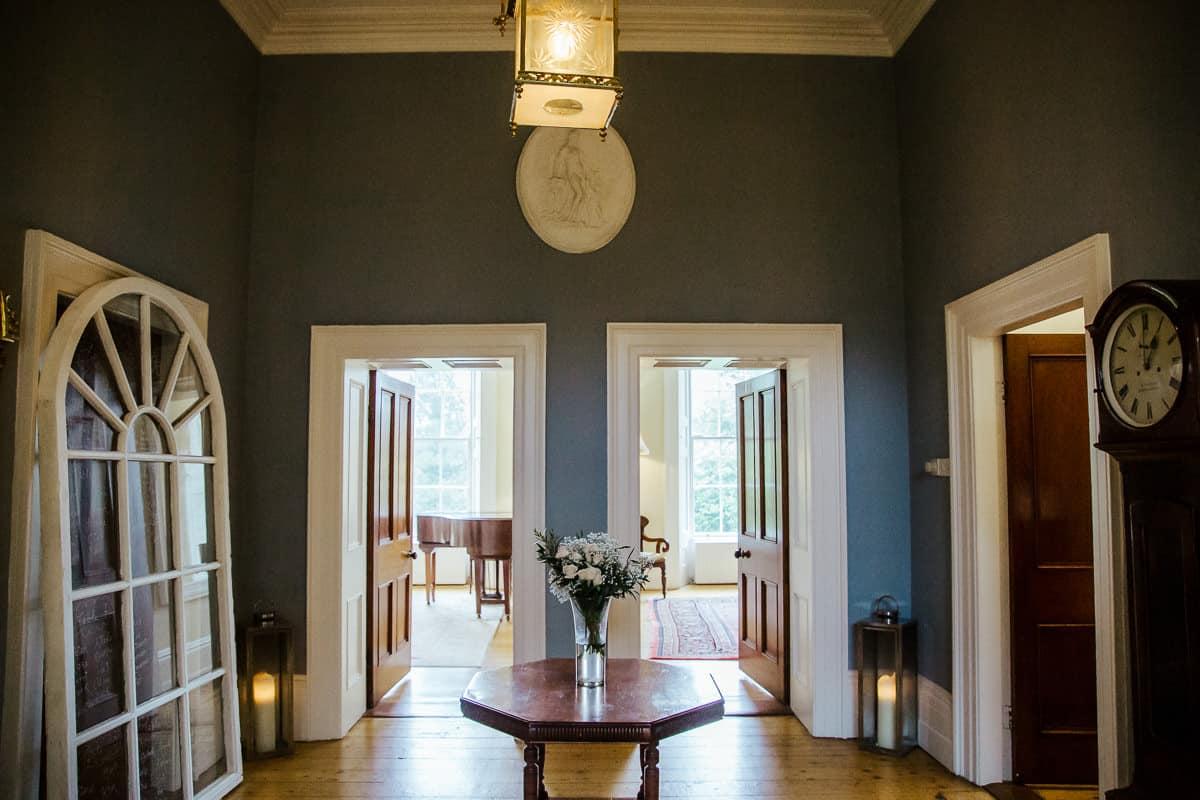 hallway in trudder lodge