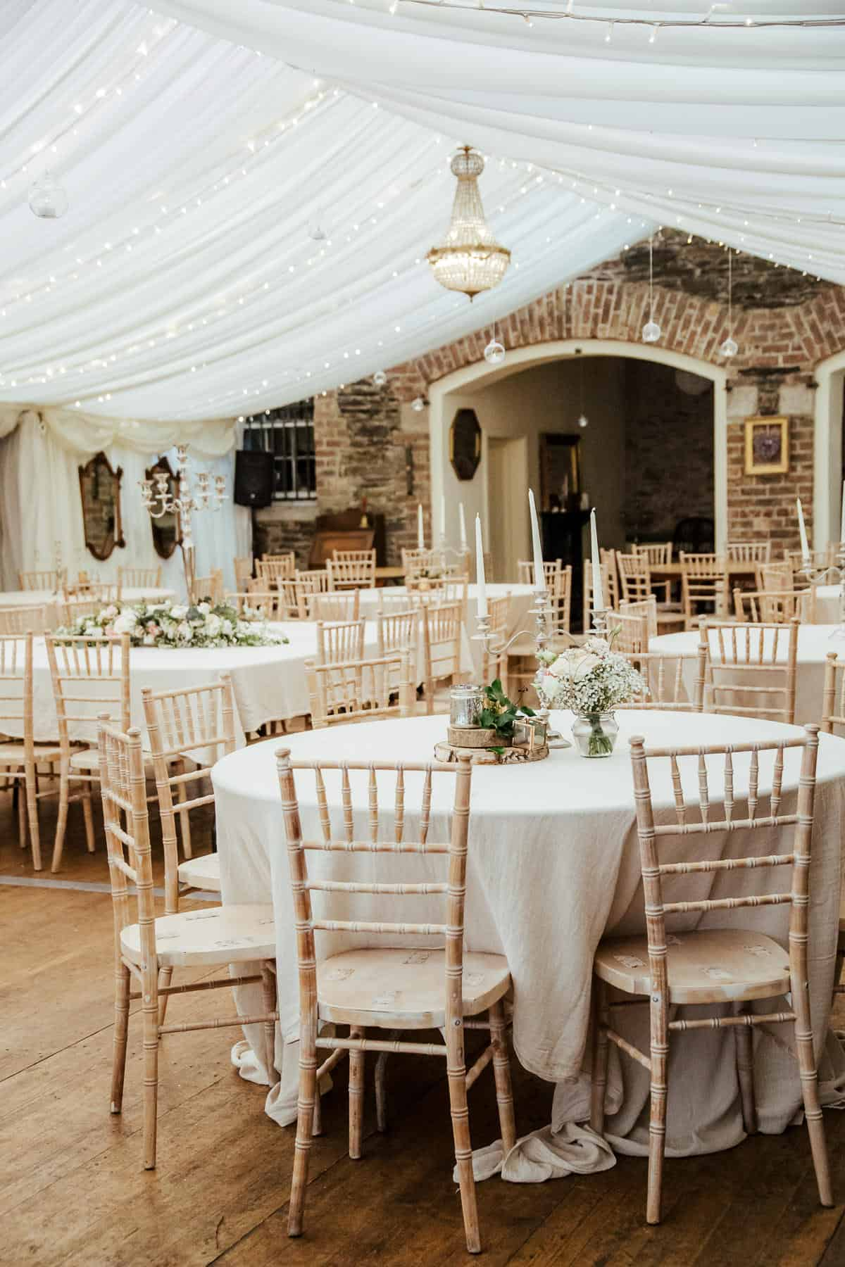 trudder lodge wedding venue marquee