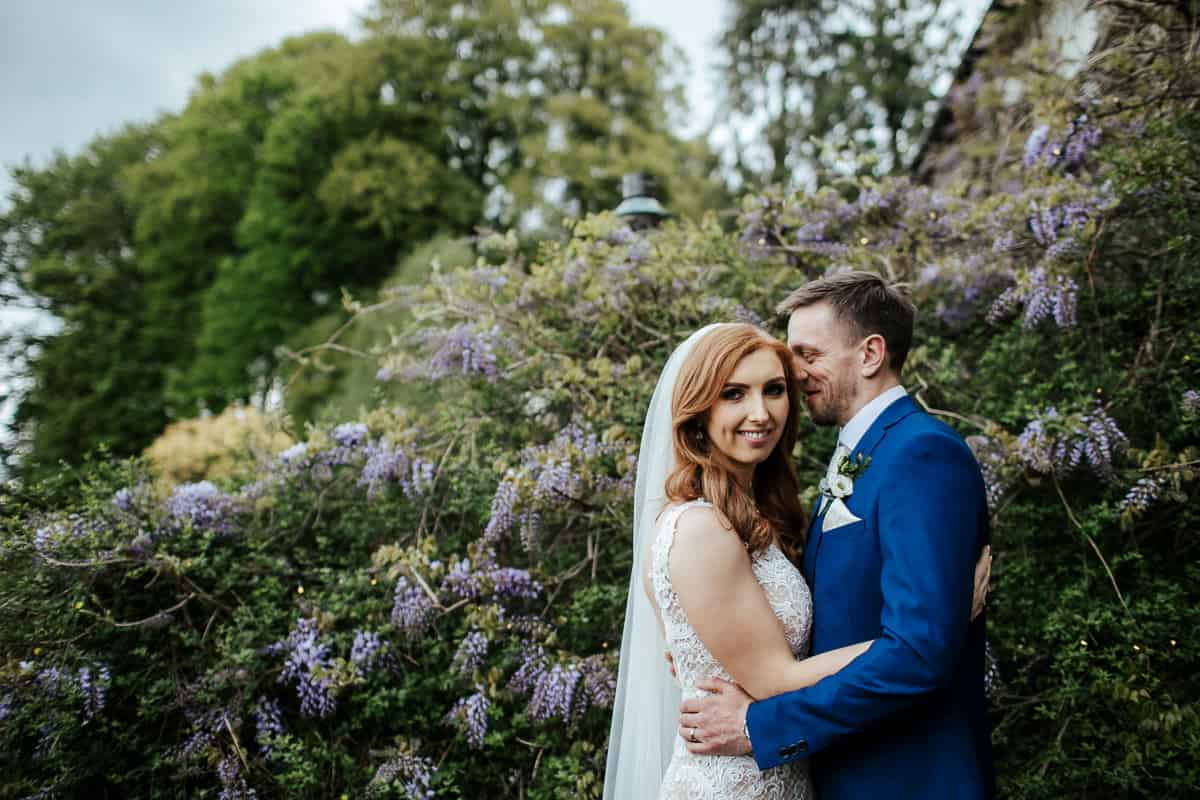 wedding couple photos at rathsallagh house wedding in may