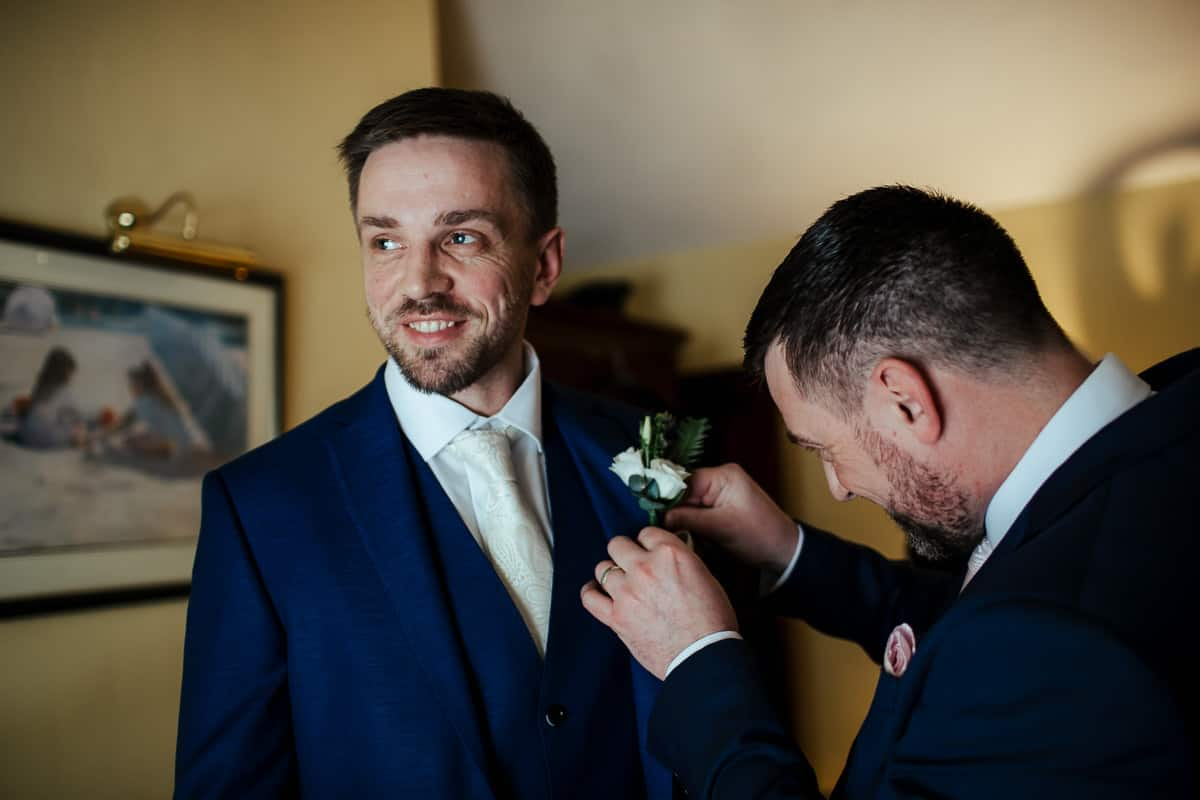 rathsallagh house wedding groom prep