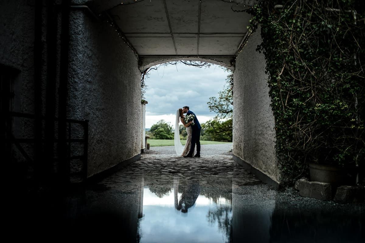 rathsallagh wedding courtyard photo