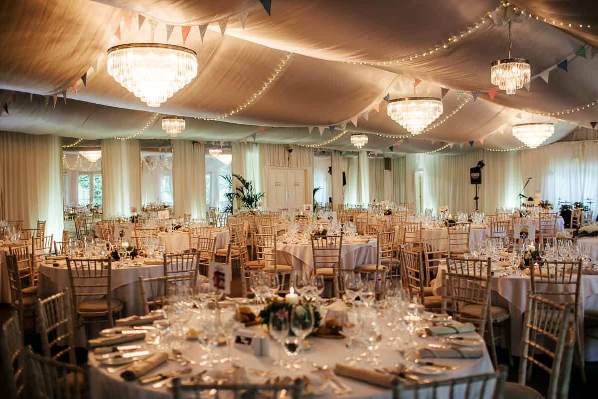 the wedding pavillion at rathsallagh house