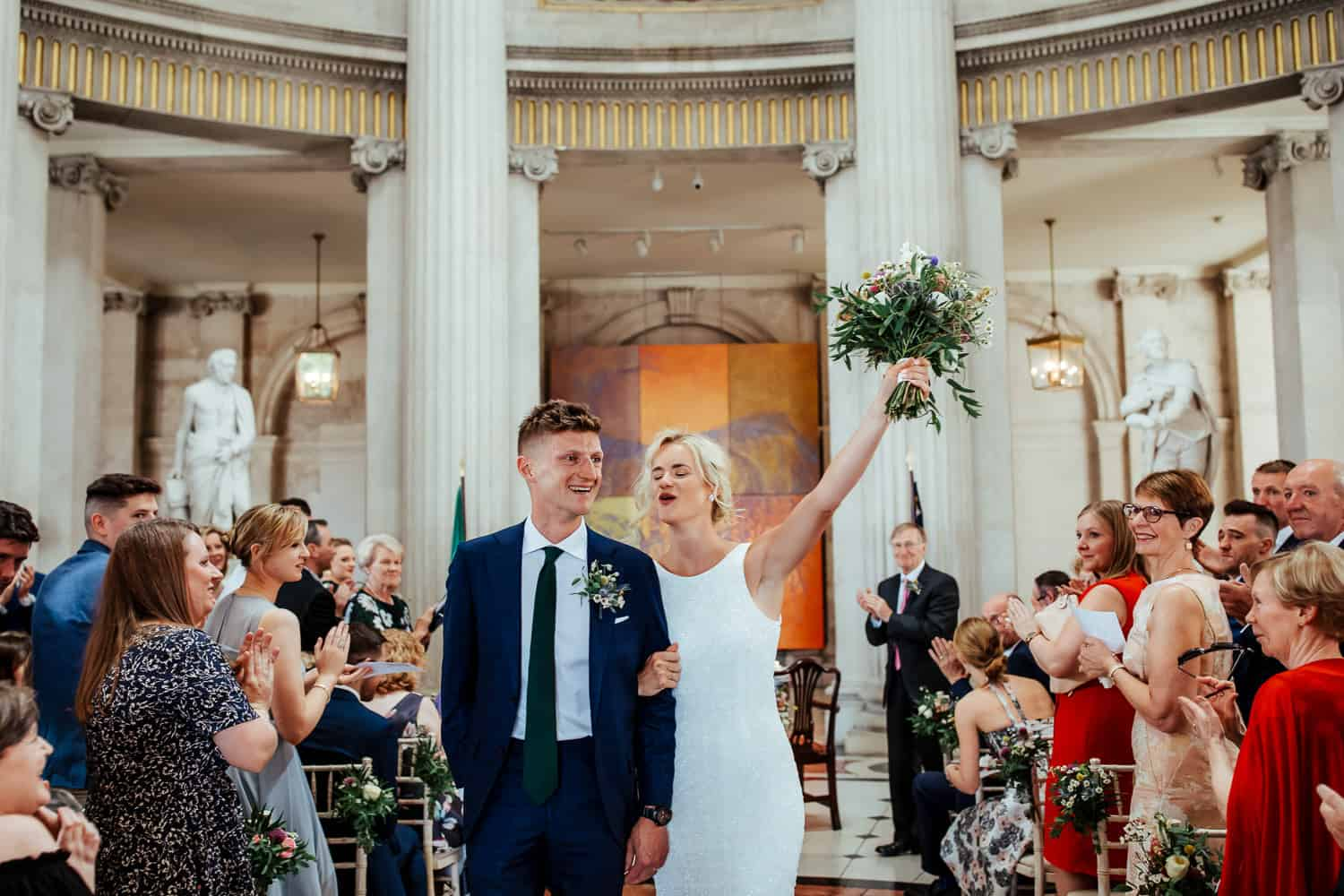 dublin wedding photographer city hall wedding