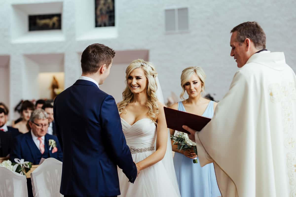 laytown sacred heart church wedding ceremony meath wedding photographer