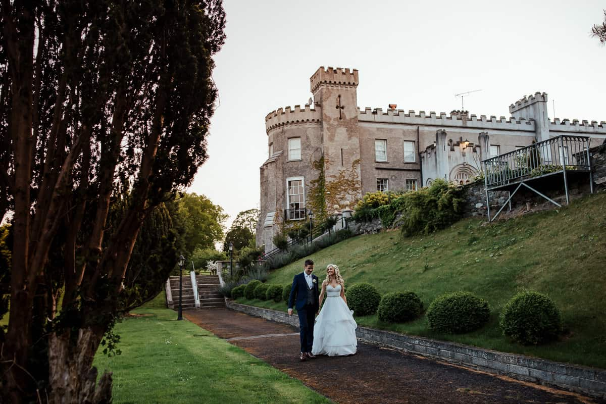 irish castle wedding bellingham castle