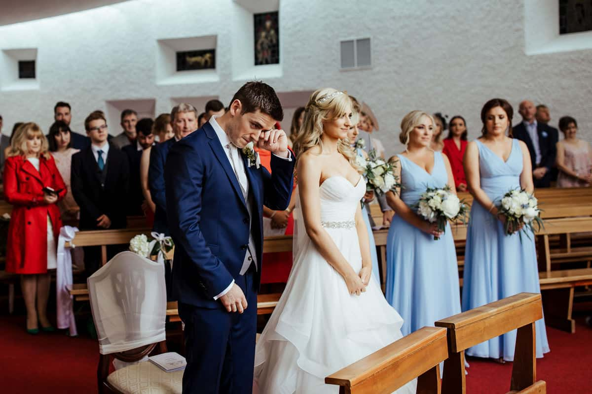 laytown sacred heart church wedding ceremony meath wedding photographer