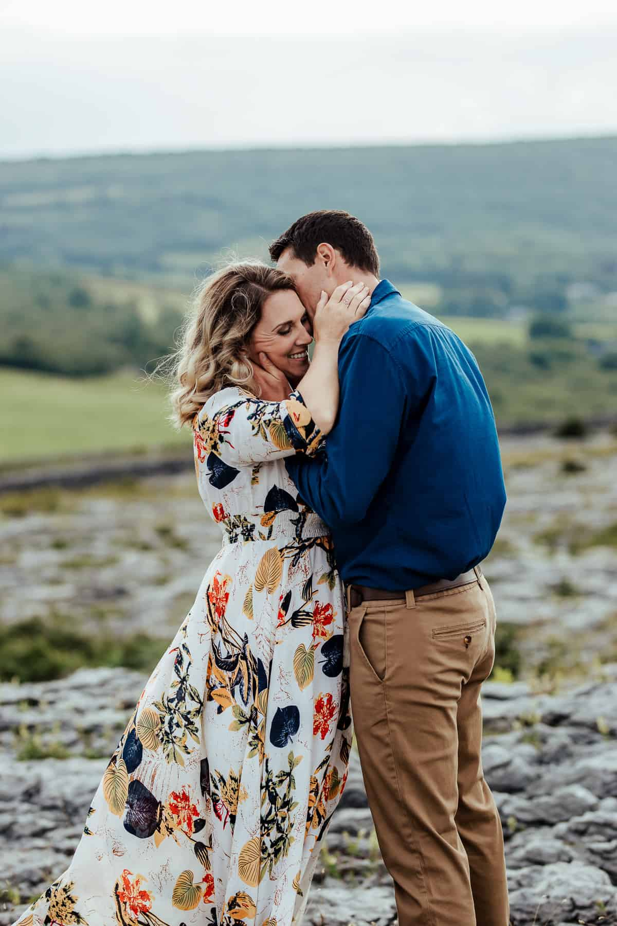 vow renewal photoshoot in the burren co clare