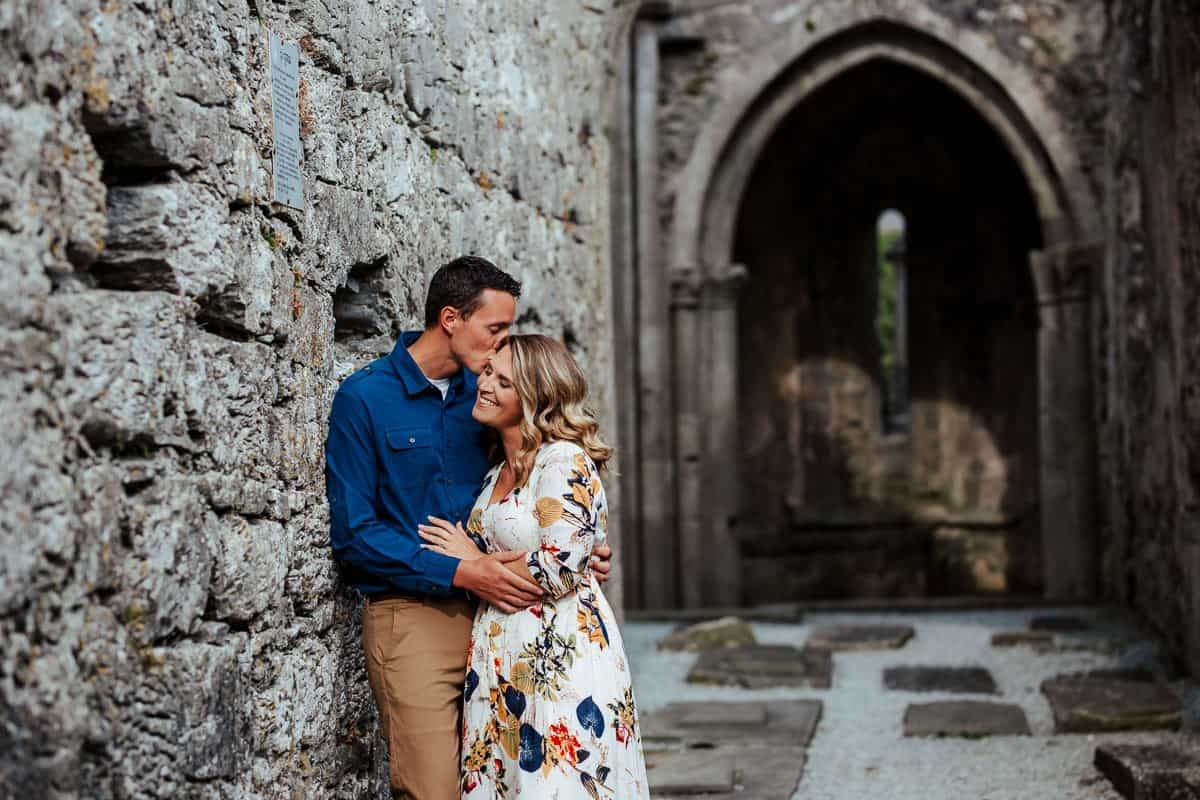 couple photo at corcomroe abbey co clare